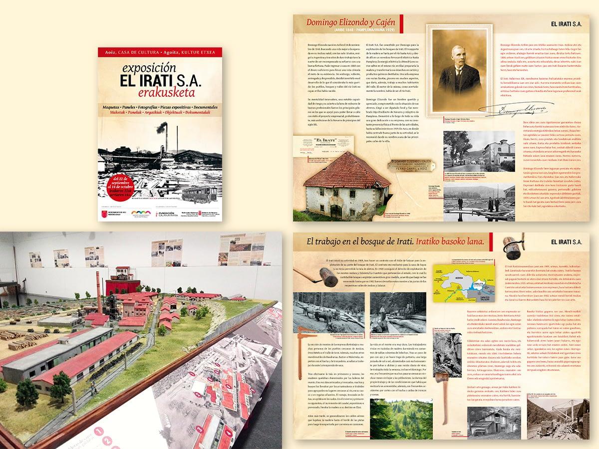 exposición El Irati
