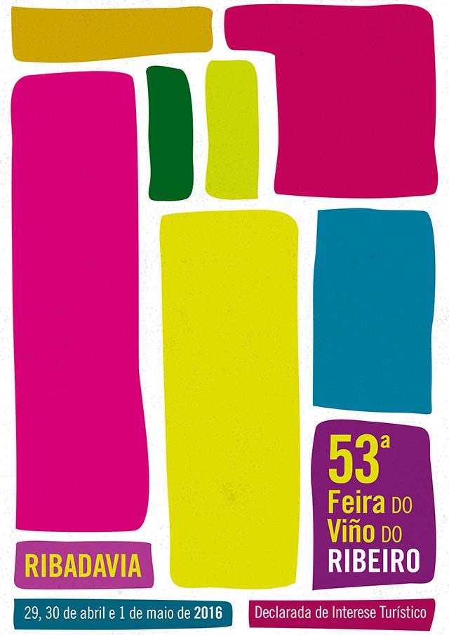 cartel FEIRA VINO RIBADAVIA
