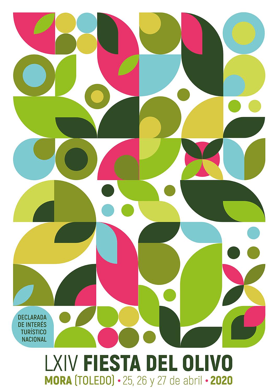 cartel fiesta del olivo Mora 2021