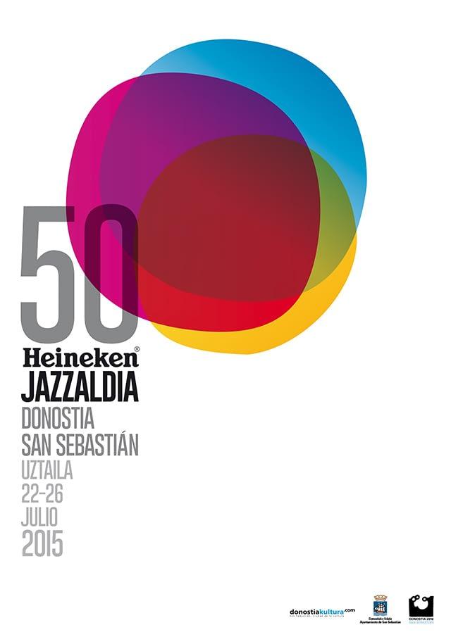 cartel 50 Jazzaldia Donostia