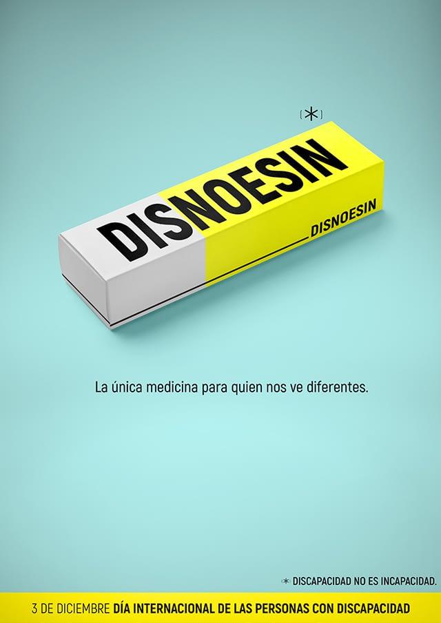 cartel Día personas con discapacidad