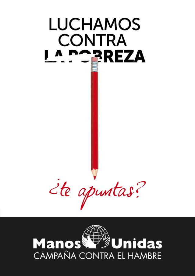 cartel Campaña Manos Unidas