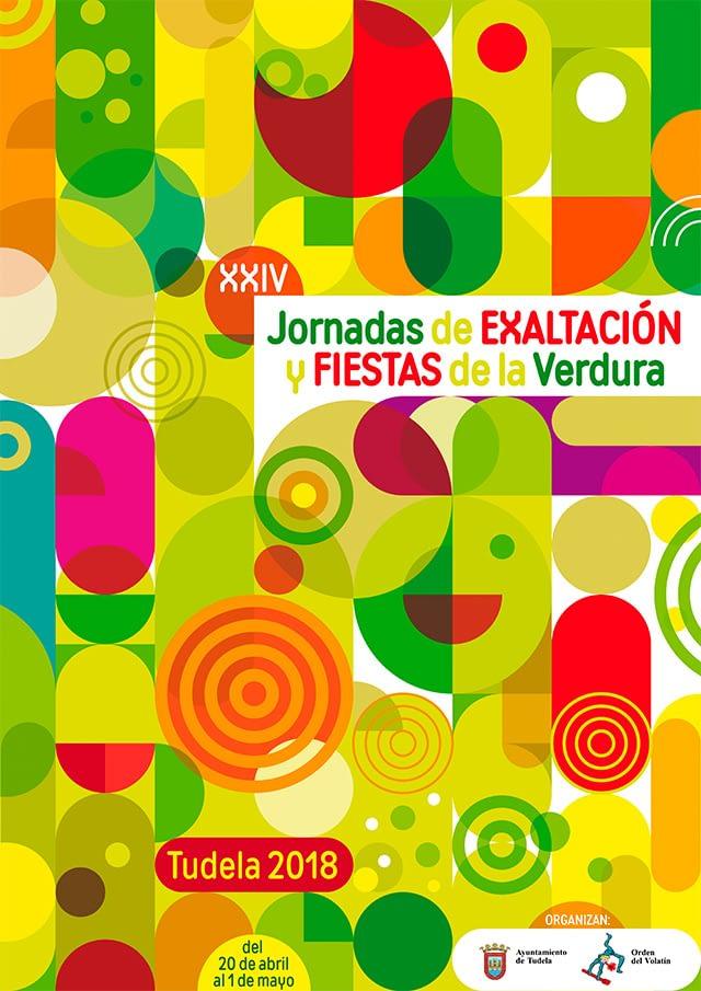 cartel JORNADAS DE VERDURAS