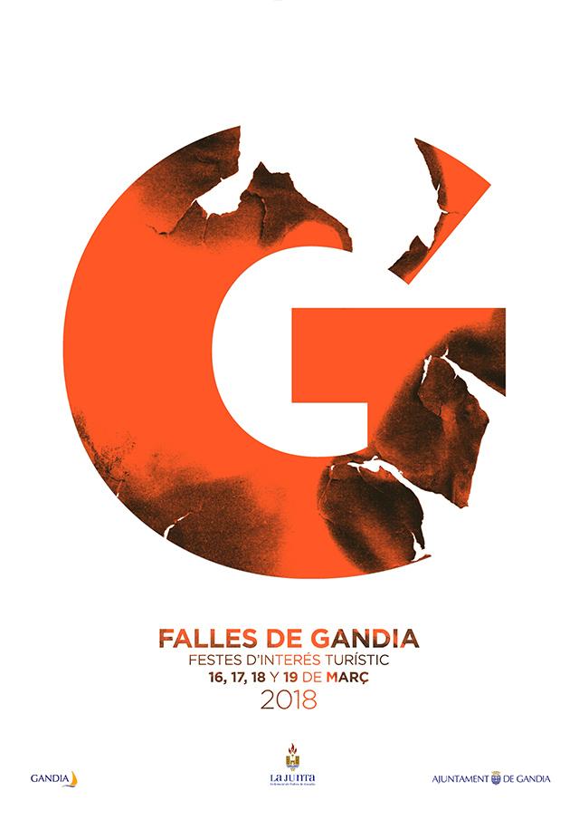 cartel FALLAS GANDÍA