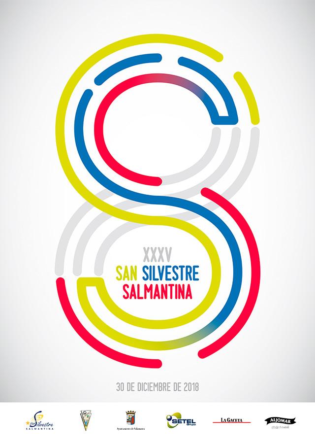 cartel SAN SILVESTRE SALMANTINA